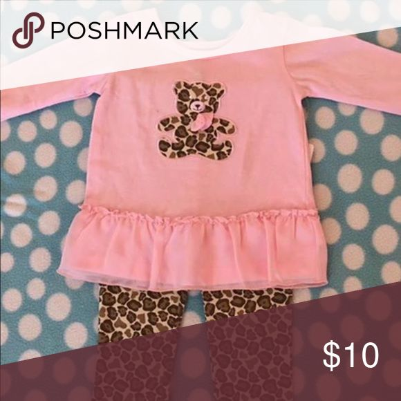 New Cheetah outfit New with tags super cute cheetah outfit. Comes from a clean pet/smoke free home. Matching Sets