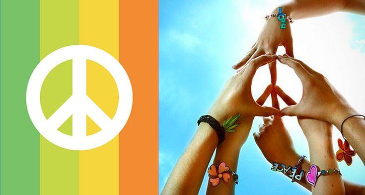 Peace and Love: découvrez l'origine du symbole de paix universel !