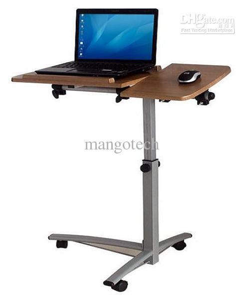 Mesa ergonómica ángulo ajustable para cama multifuncional portátil escritorio Escritorio de la computadora portátil