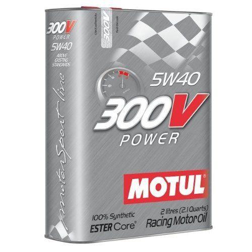 Motul 104242300V Power 5W-40Huile moteur 2L: PERFORMANCES: NORMES Surpasse toutes les normes « compétitions » existantes.…