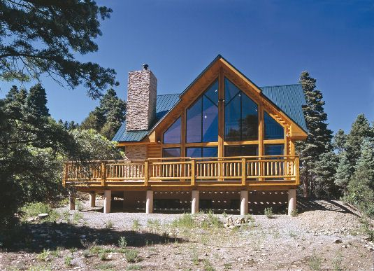 Taos Vista - Log Homes, Cabins and Log Home Floor Plans - Wisconsin Log Homes