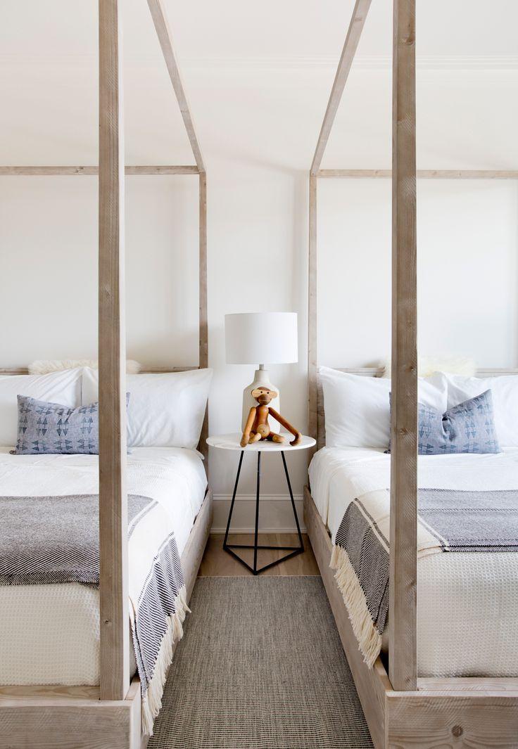 Contemporary Sagaponack Bedroom by Tamara Magel | Photo by Riki Snyder