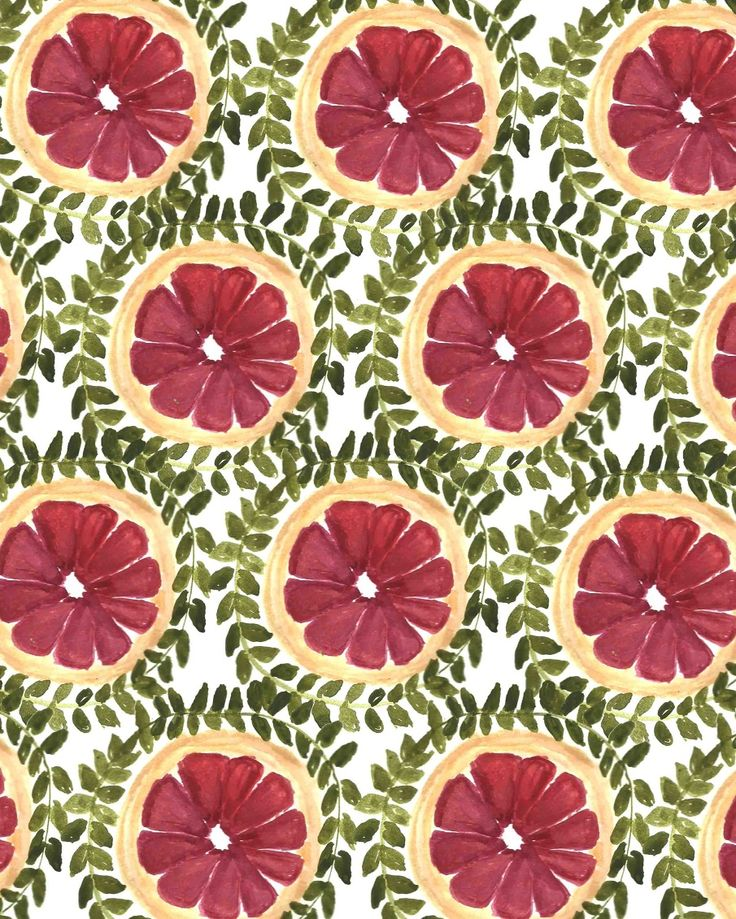 Fruit Patterns | Modern Art Fruit Scarf Collection