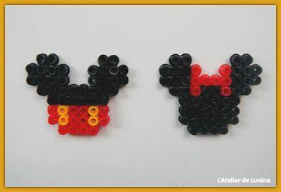 Perle hama Mickey et Minnie - Pearl Disney
