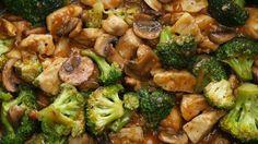 Курица с брокколи и грибами в соусе. Идеальное сочетание!. Обсуждение на LiveInternet - Российский Сервис Онлайн-Дневников