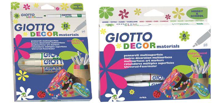 Marcadores Giotto Decor Materials