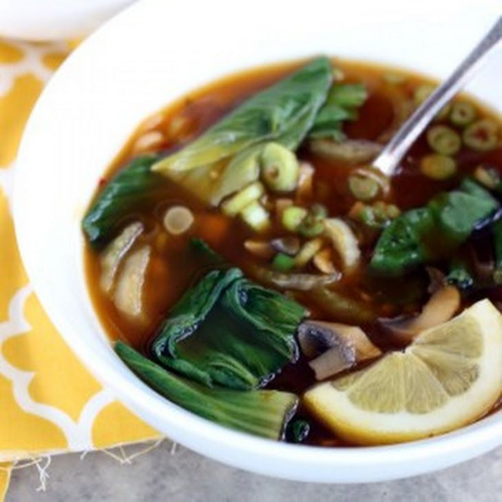 Calories in spicy asian vegetable soup the