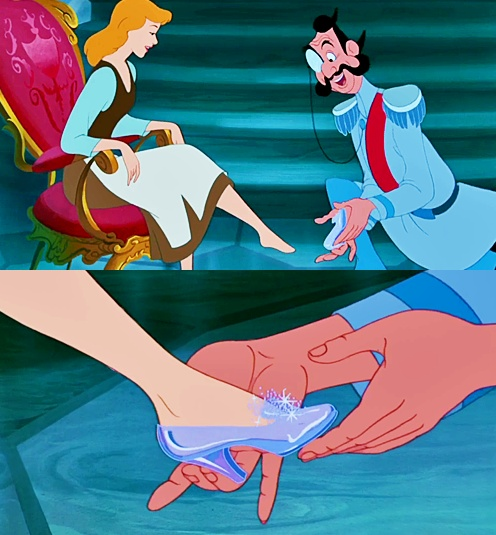 Cinderella the perfect fit! | Disney! | Pinterest