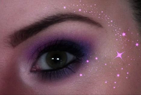 Purple smokey eye... One of my favourites on me because of my green eyes. My YouTube channel: MyMakeupPerspective