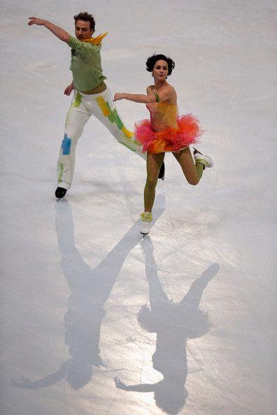 Nathalie Pechalat - Trophee Eric Bompard ISU Grand Prix of Figure Skating 2013/2014 - Day 2