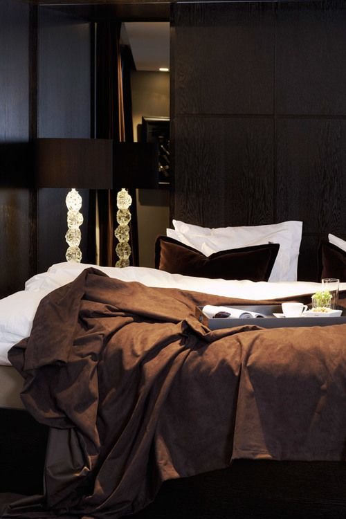 dark and dramatic a romantic bedroom
