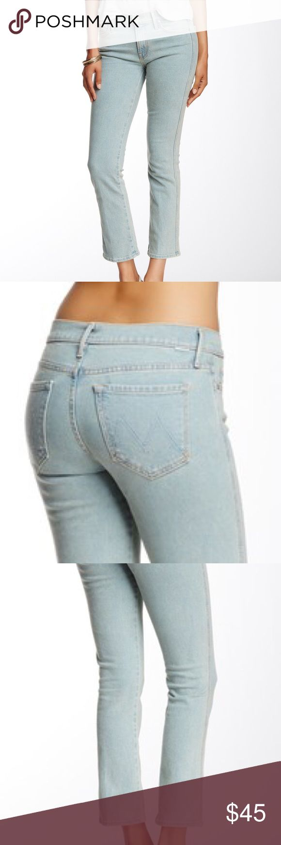 MOTHER The Rascal Ankle Worn once. Flat measurements: waist 14.5 in / inseam 26.75 in. Nordstrom Jeans Ankle & Cropped