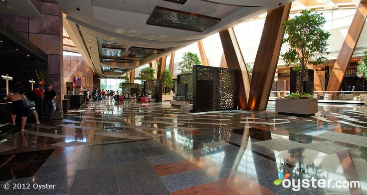 Lobby at the Aria Resort & Casino Las Vegas