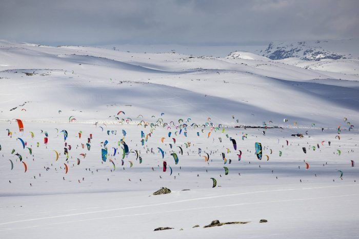 2017 Red Bull Ragnarok Snowkiting Event in Norway    Some say it's the toughest race in all of kiteboarding.