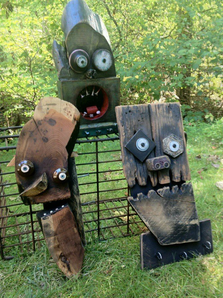 funny characters made with metal object Thomas Shelton 12 ...