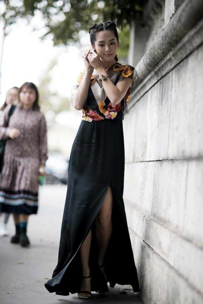 Charlene Choi - Paris Fashion Week SS17 Street Style: Day 2 - September 2016