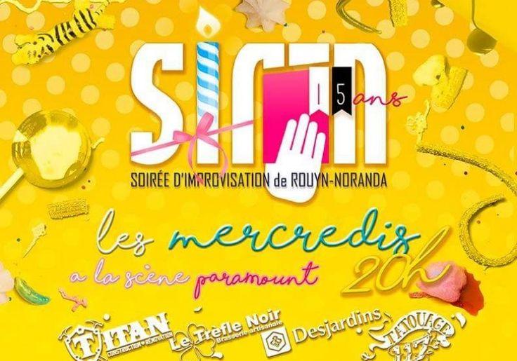 La SIR-N - La Soirée de l'improvisation de Rouyn-Noranda célèbre son 15e anniversaire! | Quoi faire à Rouyn-Noranda | CLD de Rouyn-Noranda Tourisme
