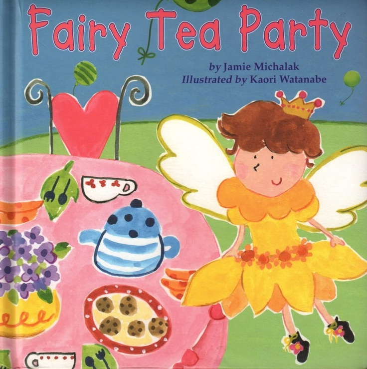 "Tea With Friends: ""Fairy Tea Party"" children's book"