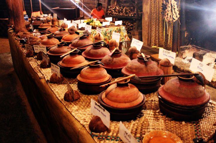 A Traditional Sri Lankan Buffet Sri Lankan Food