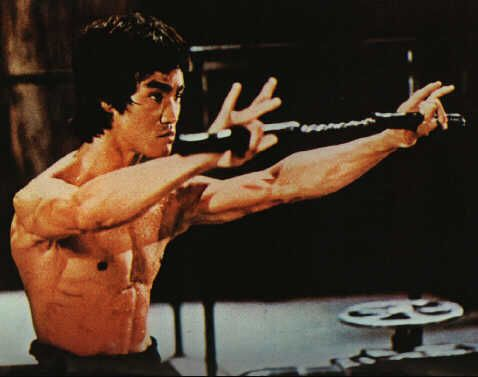 Bruce Lee, from Enter the Dragon