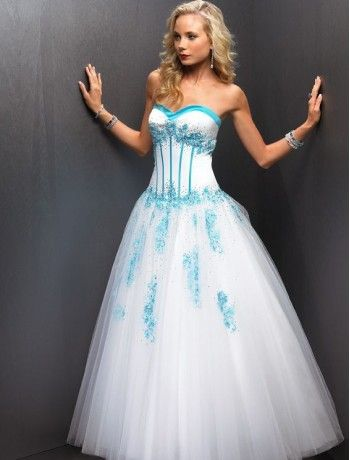 33 best dream wedding dresses images on pinterest wedding dress whiteandturquoisepregnancyweddingdresses white and turquoise a junglespirit Image collections