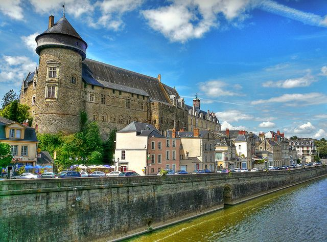 Chateau de Laval, Mayenne, France