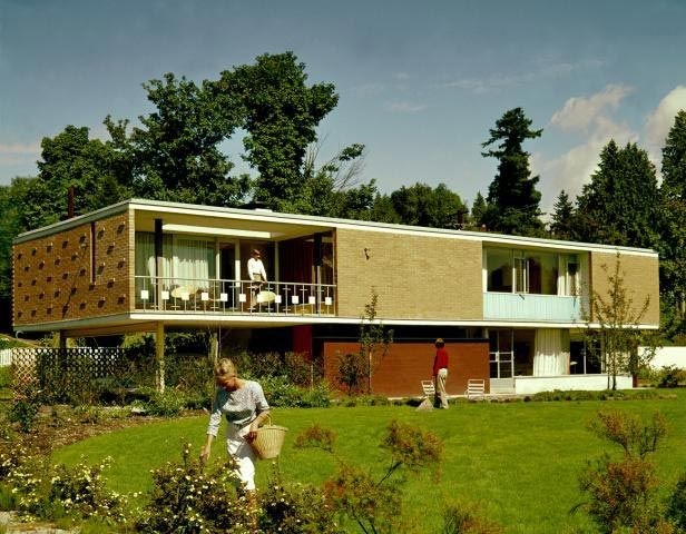 Love this house selwyn pullan gardner house vancouver for Architecture 1960