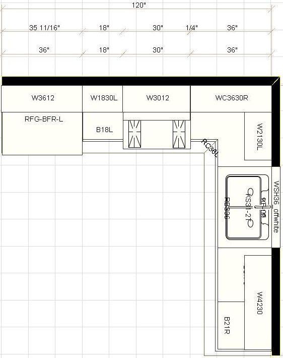 Best 10 X 10 Sample Kitchen Atlanta Kitchen Cabinet 400 x 300