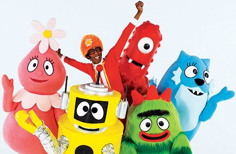 I don't get it, but I don't question it.  If it buys me 25 minutes without someone hanging from my leg then they are my favorite too.  : Ideas, Birthday, Son Love, Yogabbagabba, Yo Gabba Gabba, Kids, Things, Party, Gabba Characters