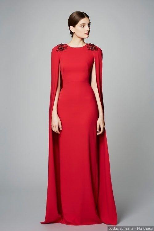 552c1a63ec8 45 vestidos rojos de noche que te hipnotizarán