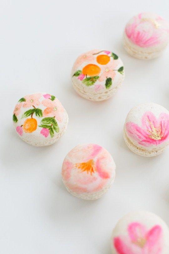 DIY Floral Macarons | Crafts, Kid and Recipe
