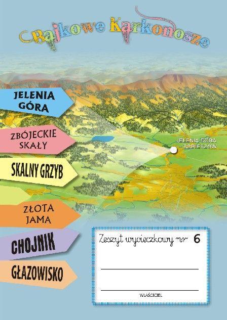 Zeszyt wycieczkowy nr 6 JELENIA GÓRA | Wydawnictwo Poligrafia AD-REM