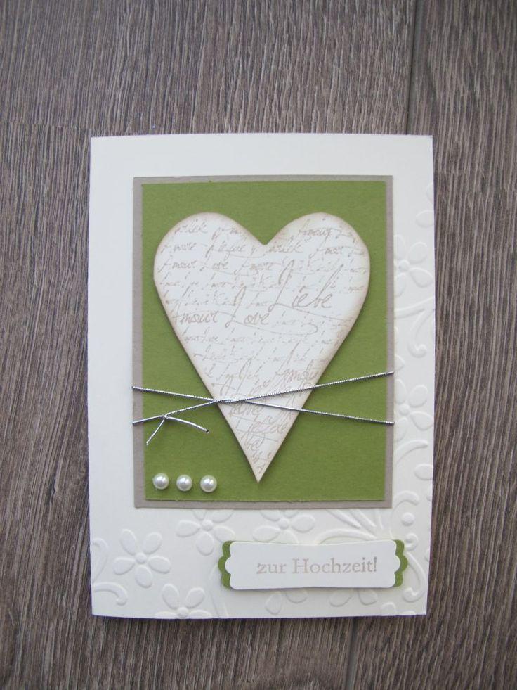 Heute zeig ich Euch ein Hochzeitsalbum, sowie eine passende Karte dazu. Die ersten Hochzeitsmessen laufen und dies könnte ein passendes Gesc...