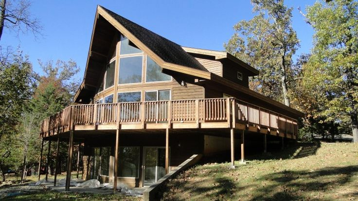 BANK OWNED HOME HORSESHOE BEND, ARKANSAS| Log Homes and Cabins