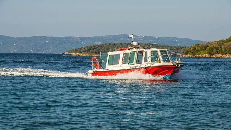 Water Taxi Alogoporos Beach Trikeri