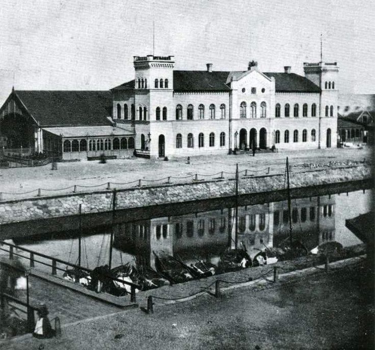 Centralstationen i Malmö, före 1866.