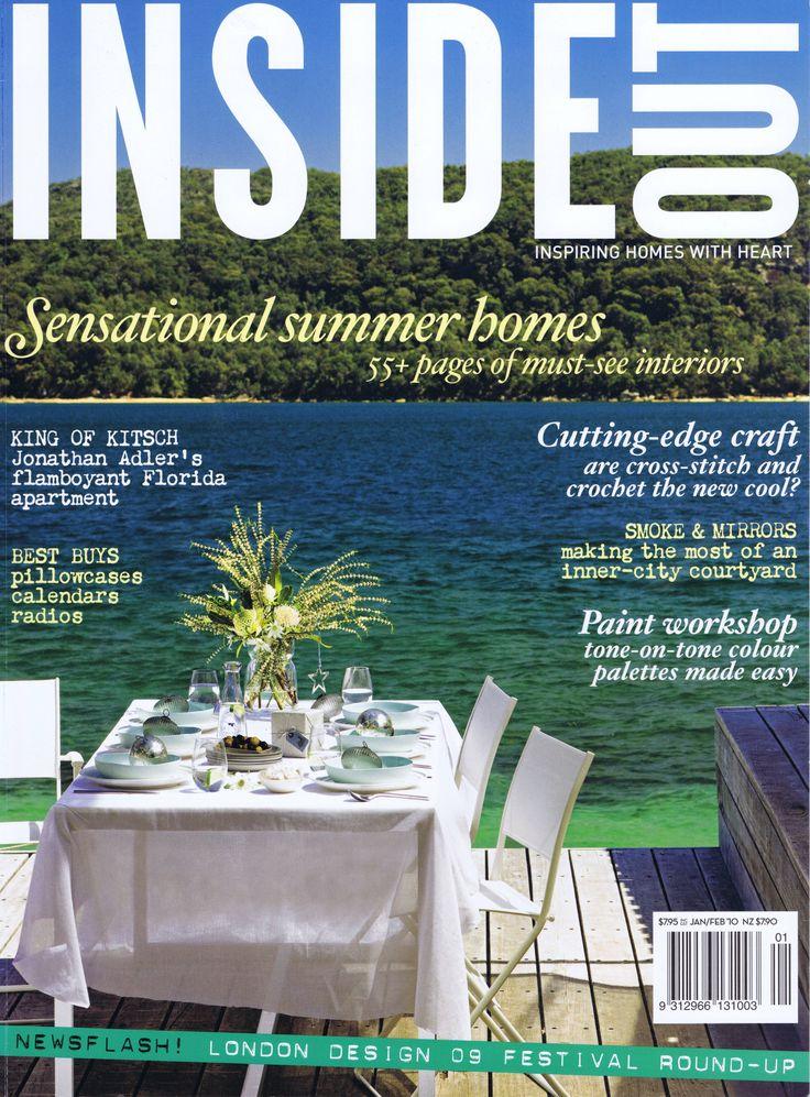 Inside Out Jan Feb 2010 Cover                Brooke Aitken Design
