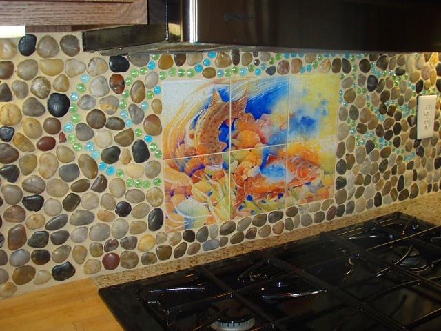 Cobblestone Backsplash 45 best stone tile backsplash suggestions images on pinterest