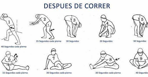 ejercicios para fortalecer despues de correr