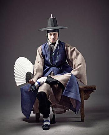 한복 Hanbok for him / Traditional Korean clothes / Design by Kim Min Jeong