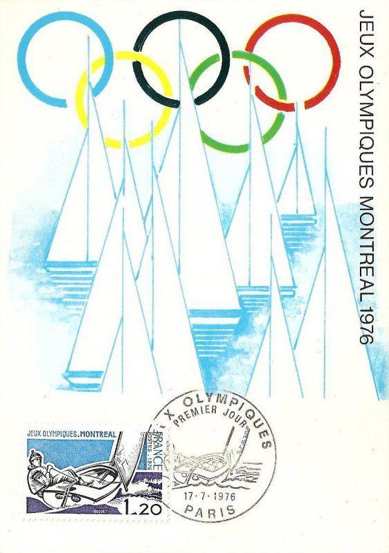 Timbre : 1976 JEUX OLYMPIQUES. MONTRÉAL | WikiTimbres