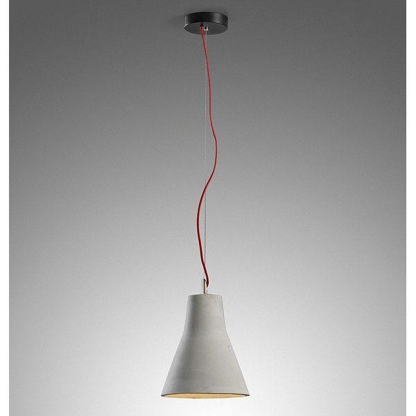 Comunemente legato alla costruzione, il cemento è raramente associato con arredi. Questa lampadario è una rivoluzione nell'uso del cemento come un unico elemento decorativo e strutturale.