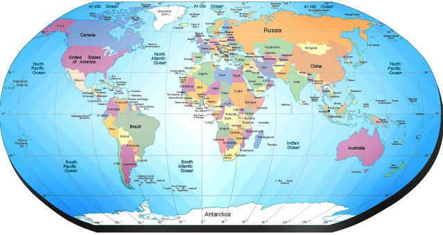 Mapa Político del Mundo