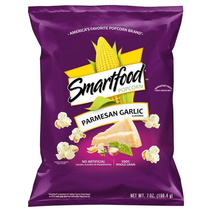 Smartfood Salt 7 oz, Popcorn