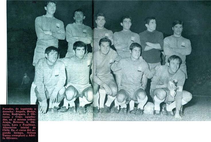 Chile 2 - Alemania 1 (1968)