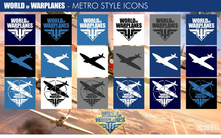 World of Warplanes - Metro Style Icons by xmilek.deviantart.com on @deviantART