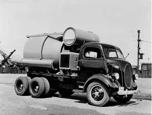 1938 Ford COE Cement Mixer Truck Factory Photo | Flickr - Photo Sharing!