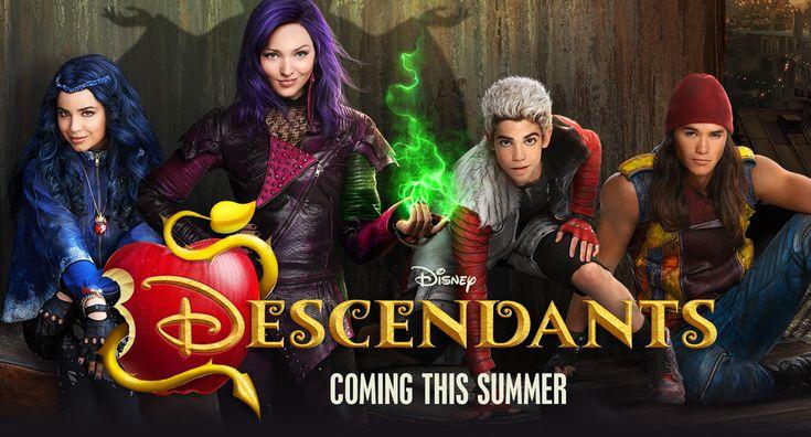 Descendants - Movie Homepage - Hero - Key Art - Animated