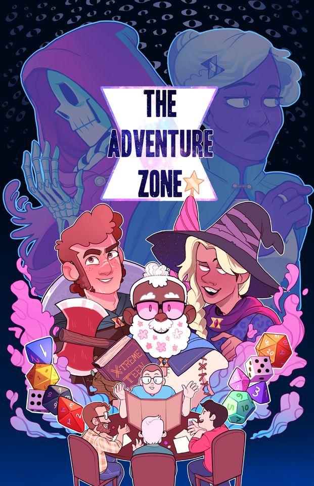 "TAZ || The Adventure Zone ""cover art"""