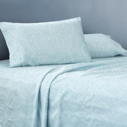 One of my favorite discoveries at ChristmasTreeShops.com: Martex® 600-Thread Count Paisley Sheet Set